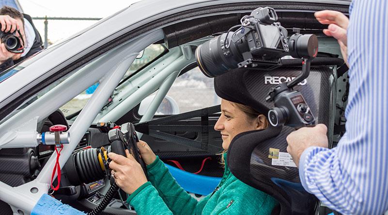 Meet Your Heroes Season 1 Episode 1 Ceileidh Siegel Porsche 911 GT2 RS Clubsport